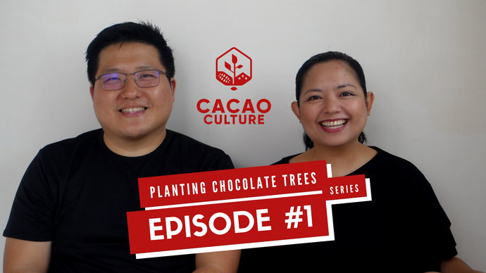 Planting Chocolate Trees Vlog Series: Episode #1 is up on Youtube