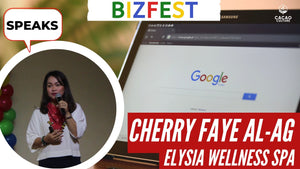 Entrepreneur Cherry Faye Al-ag Speaks at Google Bizfest