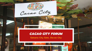 Let's talk cacao and chocolates | Cacao City