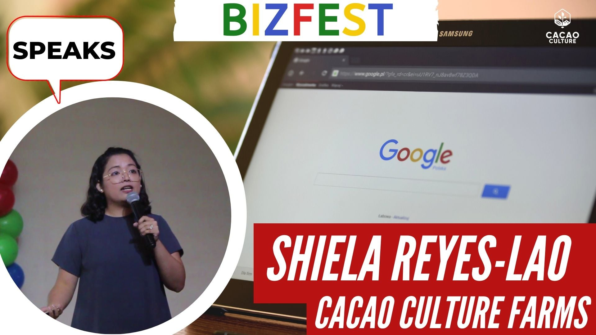 Shiela Speaks at Google Bizfest