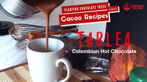 Tablea Recipe Colombian Hot Chocolate Drink