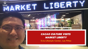 Cacao Culture Visits Market Liberty at Evia Lifestyle Center