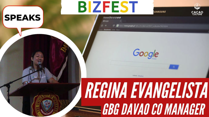 Regina Evangelista of Google Business Group PH Speaks at Google Bizfest