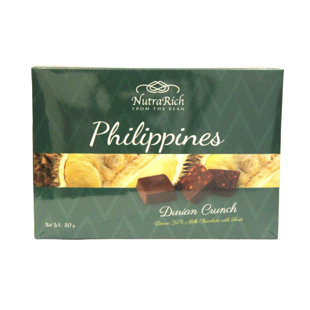 Nutrarich Durian Milk Chocolate 80g