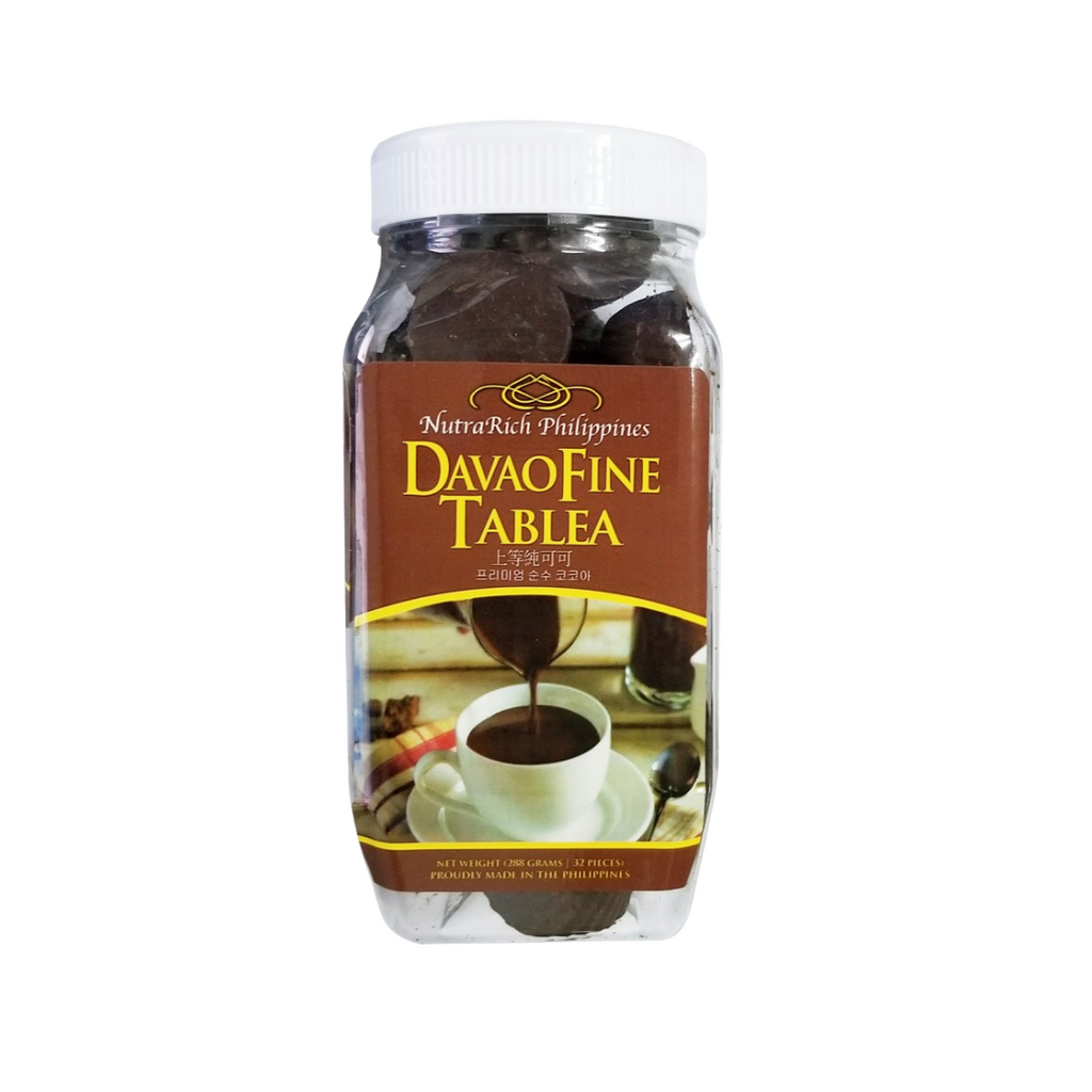 Nutrarich - Davao Fine Tablea 288g Bottle