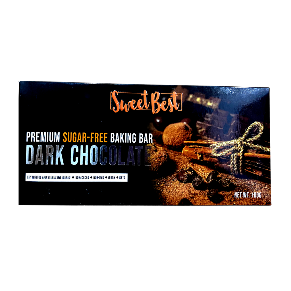 Sweet Best - Premium Sugar-Free Dark Chocolate Bar 100G