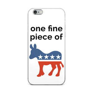 Red, White & Blue Democratease iPhone Case