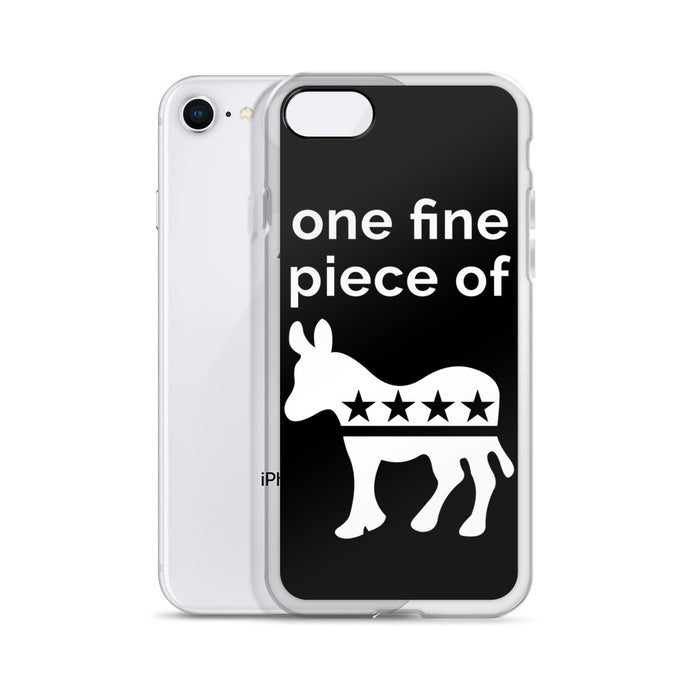 Black & White Democratease iPhone Case