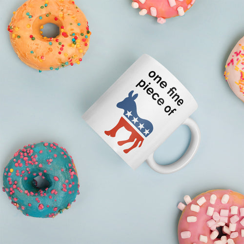 Red, White, & Blue One Fine Piece of Ass Mug - 11 oz.
