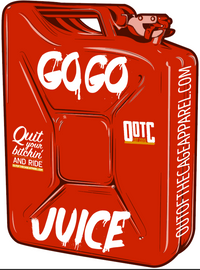 Go Go Juice Decal