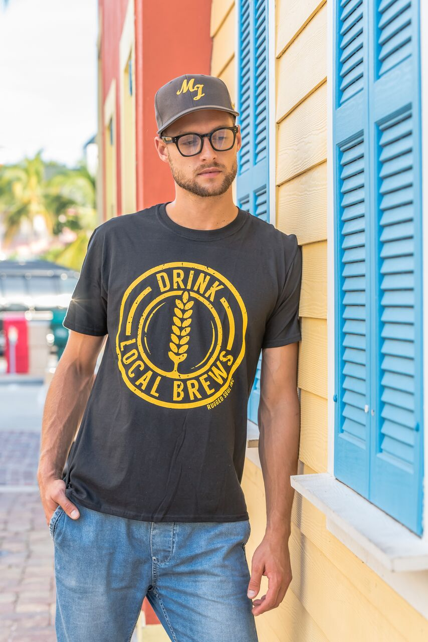 Drink Local Brews Tee - Unisex
