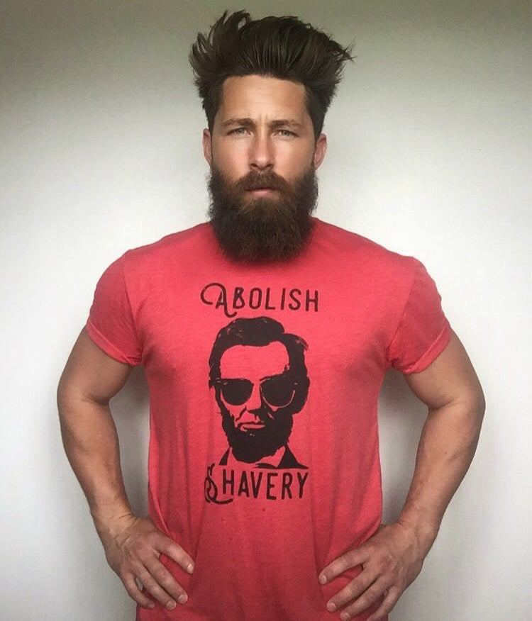 Abolish Shavery Lincoln Shirt