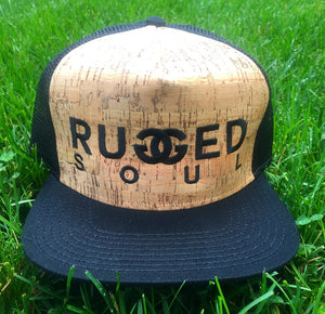 Cork Embroidered Logo Snapback