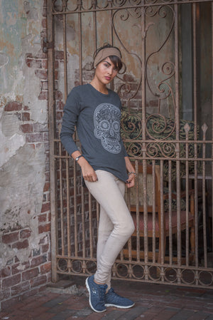 Sugar Skull Thermal - Unisex