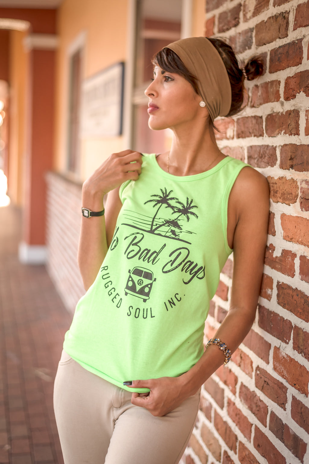 No Bad Days Muscle Tank - Unisex