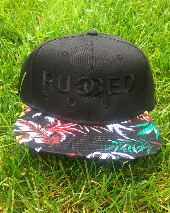Hawaiian Embroidered Logo Snapback