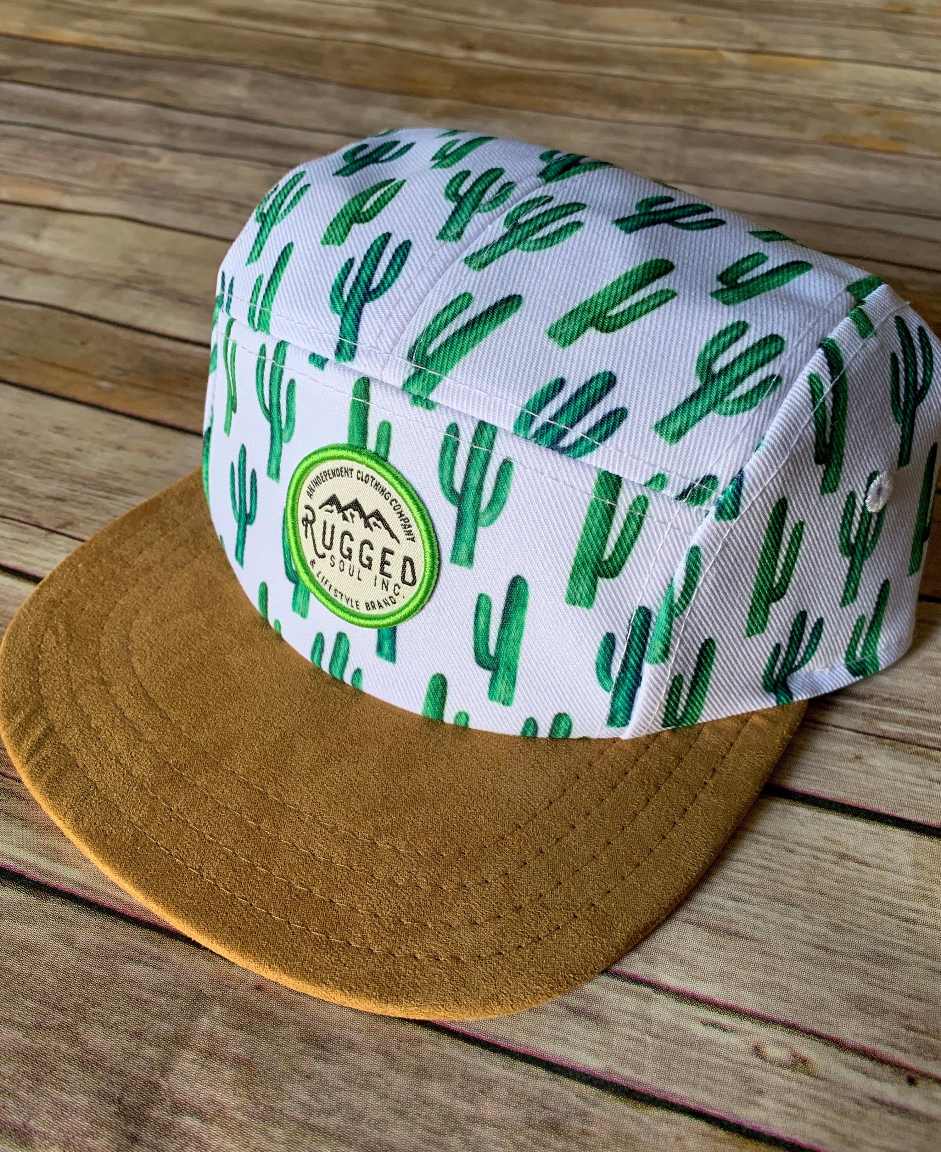 Cactus Sueded Snapback