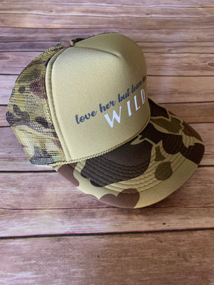 Leave Her Wild Foam Trucker