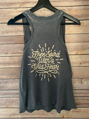 Free Spirit With a Wild Heart Tank