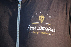 Making Pour Decisions Lightweight Hoodie - Unisex