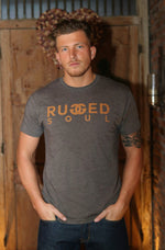 Saddle Brown Logo Tee - Unisex