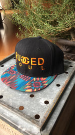 Orange Embroidered Logo Snapback