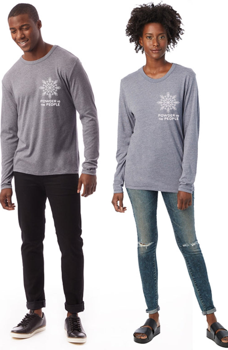 Powder to the People Long Sleeve - Unisex