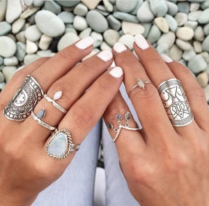 Silver Moroccan Ring