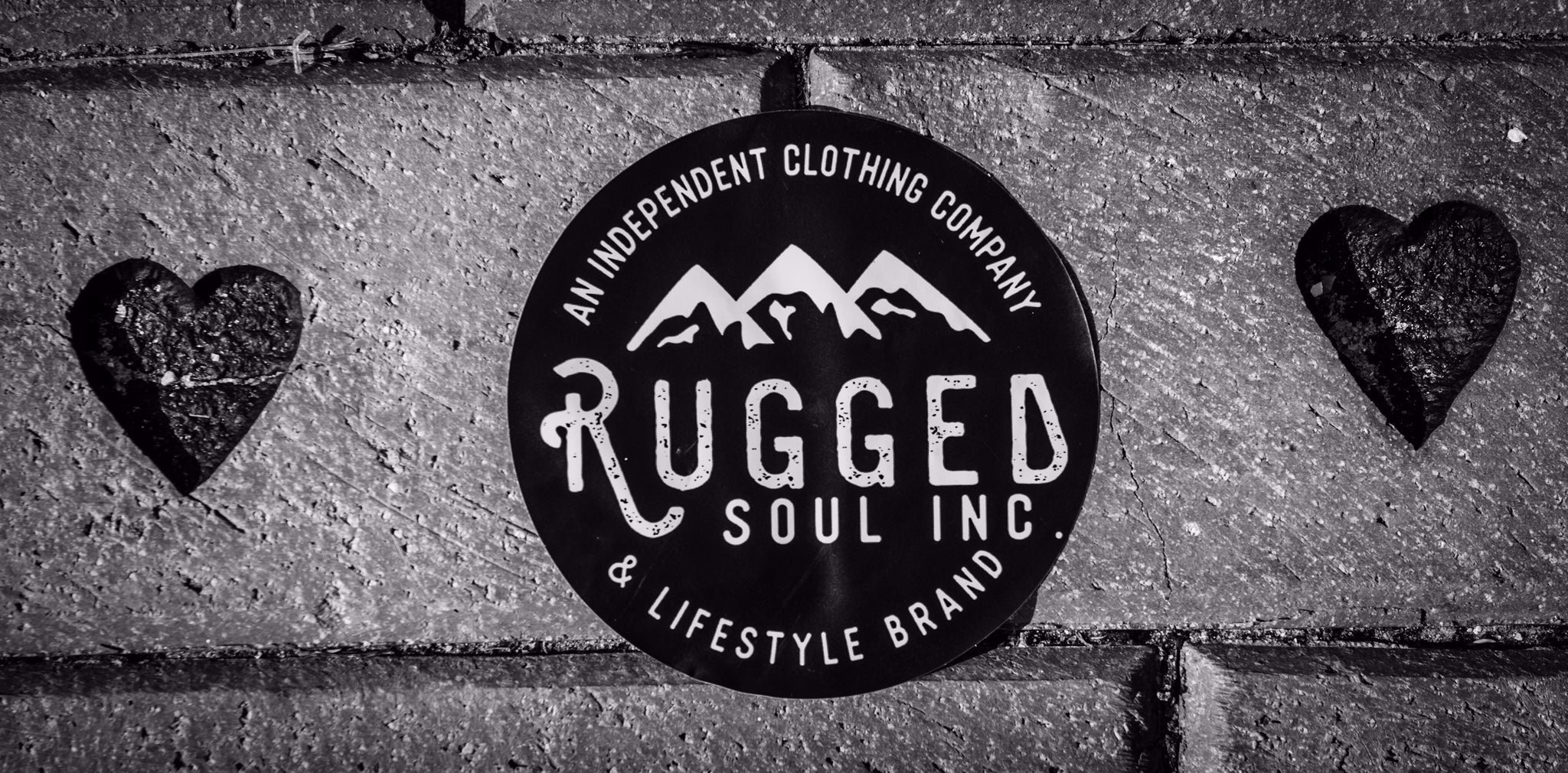 Rugged Soul Mountain Sticker
