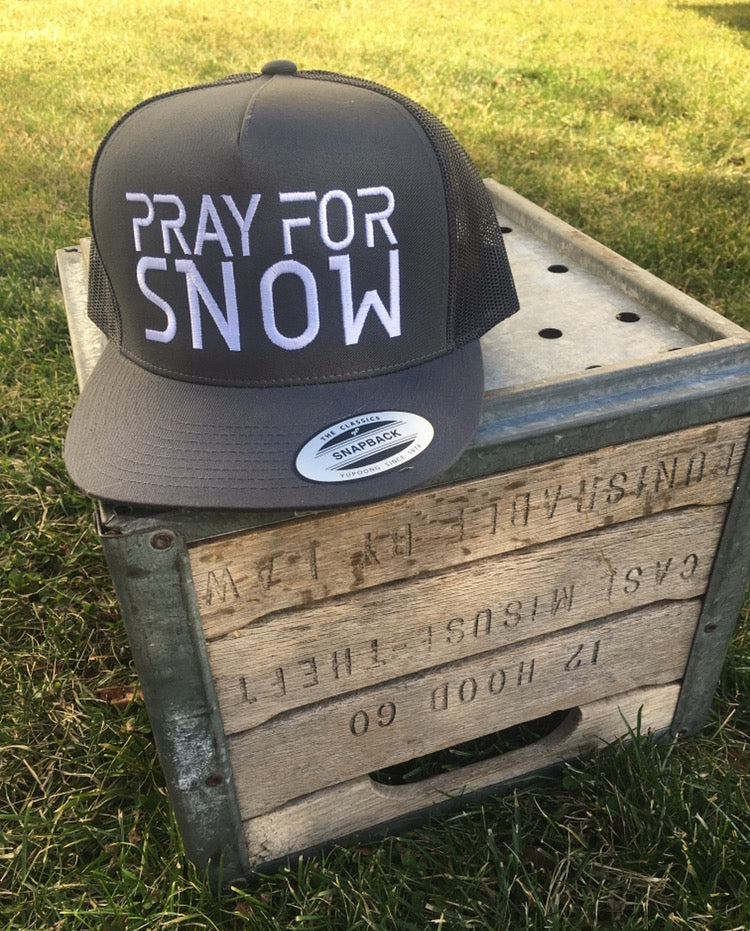 Pray For Snow Snapback