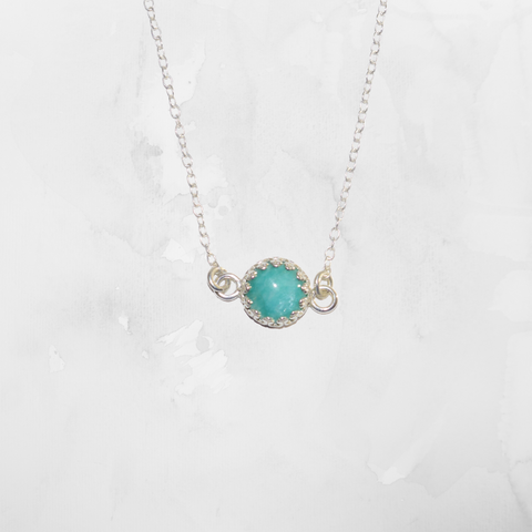 Filigree Amazonite Necklace