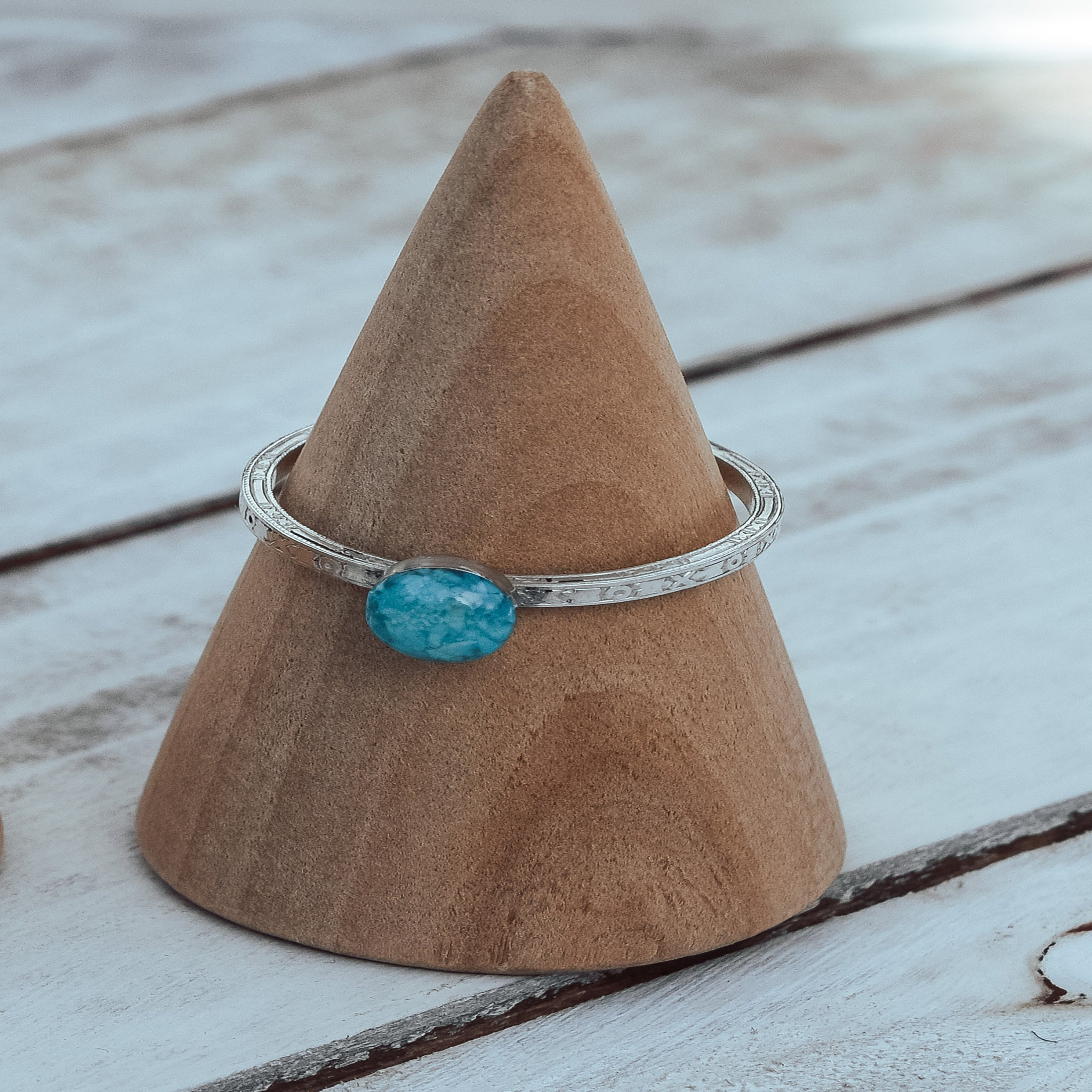 Turquoise Solitaire Ring