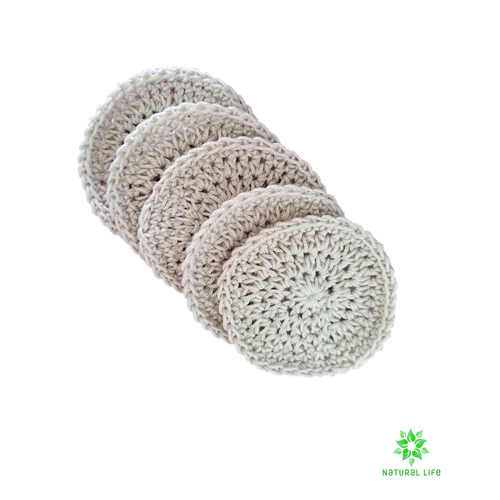 Hemp Facial Rounds Reusable 5 pack