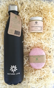 Water Bottle and Moisturising Gift Pack