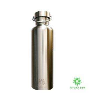 Stainless Steel Water Bottle - Silver