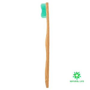 Adult Bamboo Toothbrush Mint - Medium