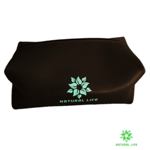 Silicone Toiletry Bag - Black