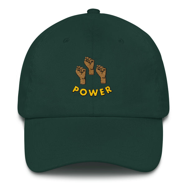 Power to the People Hat in Green