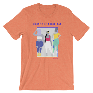 Close the Thigh Gap Orange Tee