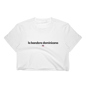 La Bandera Dominicana Crop Top Shirt, Dominican Pride T-Shirt