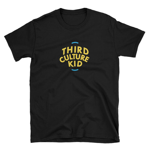 Third Culture Kid T-Shirt in Black