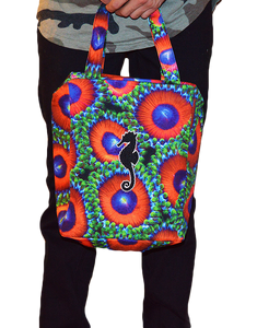 Insulated Eagle Eye Zoanthid Mini Tote Bag