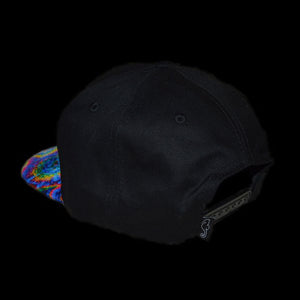 Rainbow Acan Six Panel Snapback Hat