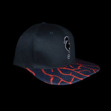 Red Gorgonian Six Panel Snapback Hat