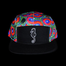 Zoanthid Five Panel Hat (Black Brim)