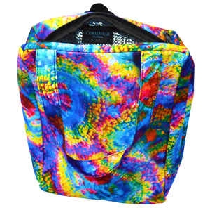 Insulated Rainbow Acan Mini Tote Bag