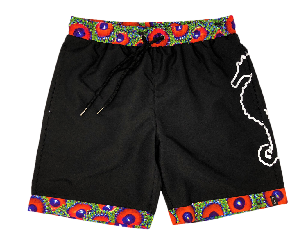 Eagle Eye Zoanthid Swim Shorts