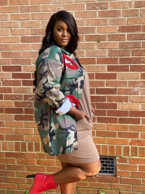 Camo Red Lip Jacket ( multiple styles)-Jackets-Shun Melson