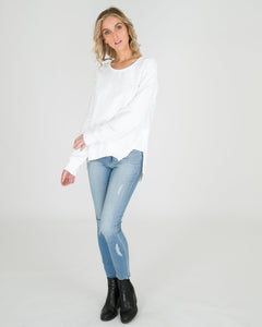 Ulverstone Sweater WHITE