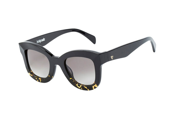 Belgrade Sunglasses BLACK TO TORT